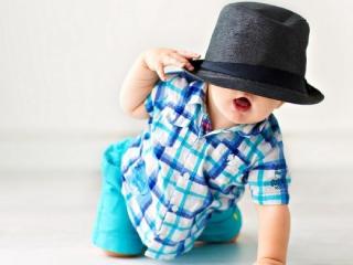 детская шляпа фото