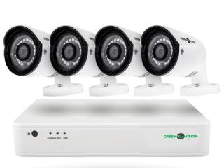 система наружного видеонаблюдения фото