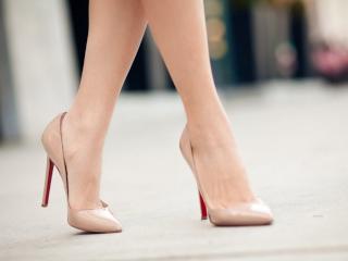туфли женские на каблуке фото