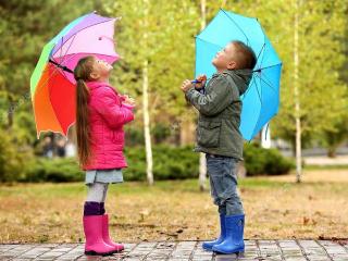 детские зонтики фото